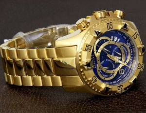 1e8e866fba8 Relógio Invicta Thunderbolt 21347 Banhado a Ouro 18k Original - RR ...