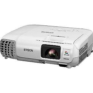 Projetor Epson Powerlite S17 3lcd Svga 2700 Lumens
