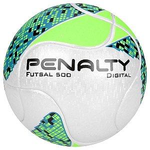 Bola de Futsal Penalty Digital 500 Verde