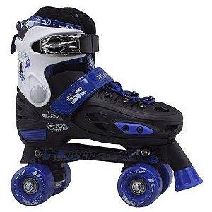 Patins de 4 Rodas Hyper Sports Azul Speed