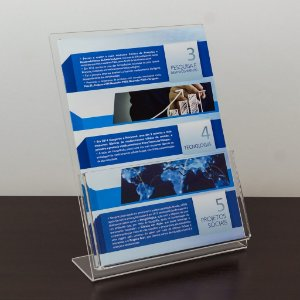 Porta folder A4 vertical