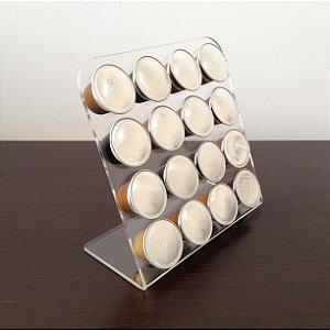 Porta cápsulas de café Nespresso - Transparente