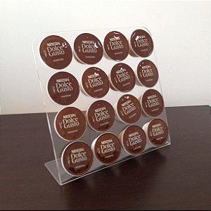 Porta cápsulas de café Dolce Gusto - Transparente
