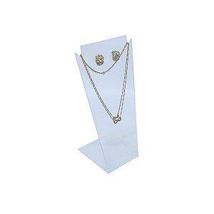 Expositor de colar e brinco grande - Transparente