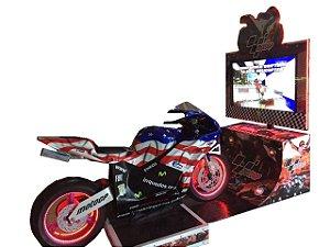 Simulador Moto Simples Super Bike 2