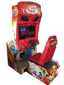 "Simulador de Corrida Simples Cruis'n USA LCD 32"""