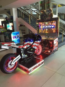 Evento Hotel Casa Grande - Simulador de Moto Super Bike 2 LCD