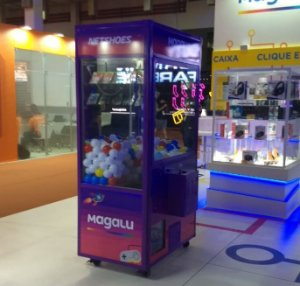 Evento Magalu - Grua Extra Play