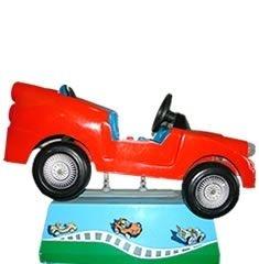 Kiddie Rider Car Vermelho