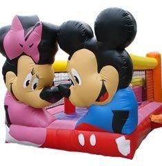 Kiddie Play Mickey & Minnie com Escorregador