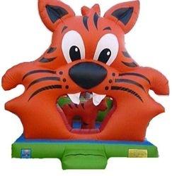 Kiddie Play Tigre Inflável