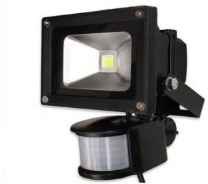 Refletor Holofote Led 20w Bivolt Sensor Presença Movimento