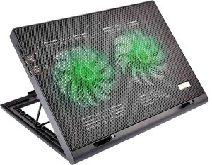 Base Para Notebook Cooler Gamer Led Luminoso - Ac267