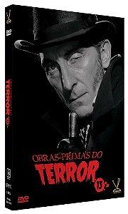 Obras-Primas do Terror Vol. 15 - Edição Limitada Com 6 Cards (Caixa com 3 DVDs)