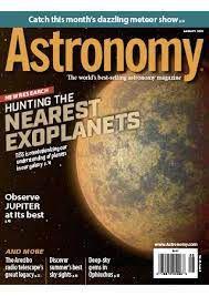 ASTRONOMY AUGUST 2021