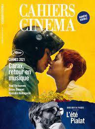 cahiers du cinema juillet 2021