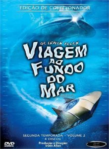 Box DVD's Viagem ao Fundo do Mar 2ª Temporada Volume 2