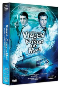 Box DVD's Viagem ao Fundo do Mar 1ª Temporada Volume 2