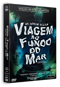 Box DVD's Viagem ao Fundo do Mar 3ª Temporada Volume 1
