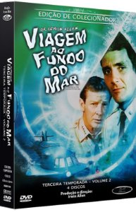 Box DVD's Viagem ao Fundo do Mar 3ª Temporada Volume 2