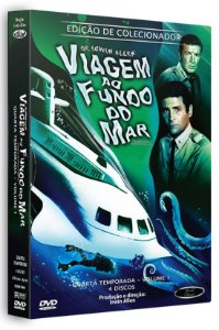 Box DVD's Viagem ao Fundo do Mar 4ª Temporada Volume 1