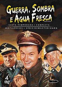 GUERRA, SOMBRA E ÁGUA FRESCA • 6ª TEMPORADA COMPLETA (1965/71)