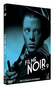 FILME NOIR VOL. 9 – Edição Limitada com 6 cards (Digistack com 03 DVDs)