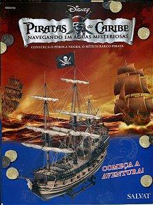 Fascículos Piratas do Caribe Construa o Pérola Negra