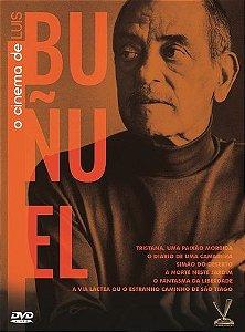 O CINEMA DE LUIS BUÑUEL - Edição Limitada com 6 Cards (Digistack com 03 DVDs)