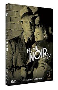 FILME NOIR - Volume 10 – Edição Limitada com 6 Cards (3 DVDs)