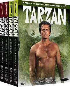 Box Tarzan 1ª e 2ª Temporada Completa