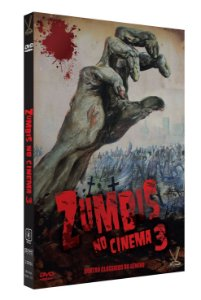 ZUMBIS NO CINEMA - Volume 3 – Edição  Limitada com 4 Cards (Digistack com 2 DVDs)