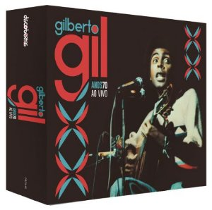 Box de Cd Gilberto Gil-Anos 70