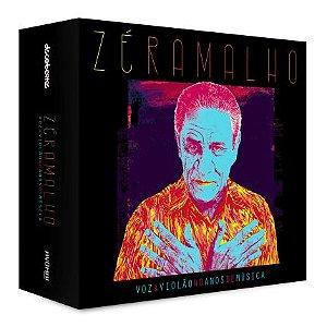 Box de Cd Zé Ramalho-Voz & Violão 40 Anos de Música