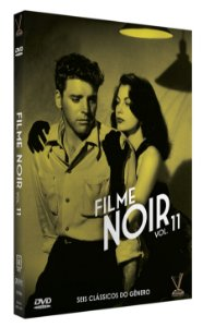 FILME NOIR - Volume 11 -  Edição Limitada com 6 Cards (Digistack com 03 DVDs)