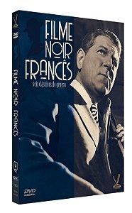 FILME NOIR FRANCÊS - Edição Limitada com 6 Cards (Digistack com 03 DVDs)
