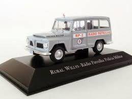 Miniatura Rural Willys-Radiopatrulha