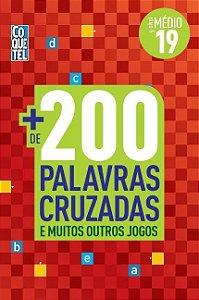 Mais de 200 Palavras Cruzadas e Muitos Outros Jogos Volume 19