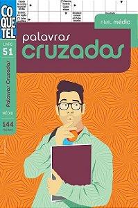 Livro Palavras Cruzadas Volume 51