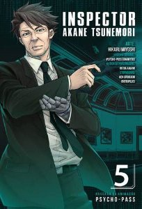 PRÉ-VENDA Psycho-Pass - Inspector Akane Tsunemori Vol. 5