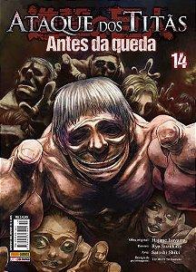 ATAQUE DOS TITÃS - ANTES DA QUEDA: VOL. 14