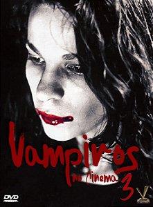 PRÉ-VENDA VAMPIROS NO CINEMA - Volume 3 - Edição Limitada com 4 Cards (Digistack com 02 DVDs)