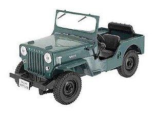 Jeep Willys Cj-3B 1954-Escala 1/43-Edição 110