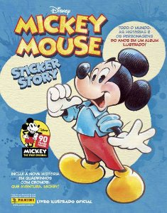PRÉ-VENDA Álbum Mickey 90 anos(Capa Dura) com 12 envelopes