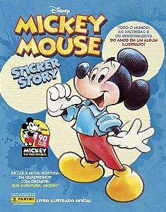 Álbum Mickey 90 anos(Capa Dura) com 12 envelopes