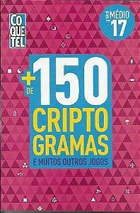 LIVRO + 150 CRIPTOGRAMAS - VOL. 17