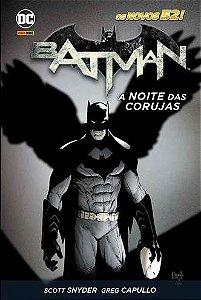 BATMAN: A NOITE DAS CORUJAS(RELANÇAMENTO)