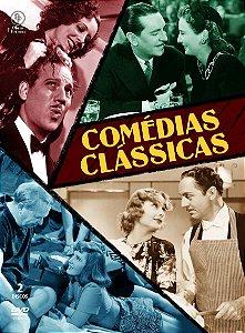 COMÉDIAS CLÁSSICAS (DIGIPAK COM 2 DVD's)