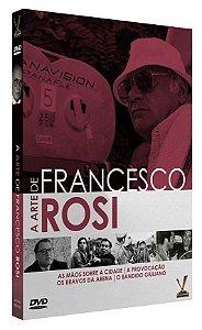 A ARTE DE FRANCESCO ROSI  ED. LIMITADA COM 4 CARDs (Caixa com 02 DVDs)