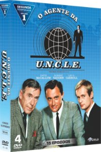 AGENTE DA UNCLE - Segunda Temporada - Vol. 1-ENTREGA 15/04/2019